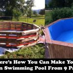 How You Can Make Your Own Swimming Pool From 9 Pallets