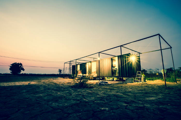 Home Built From Shipping Containers