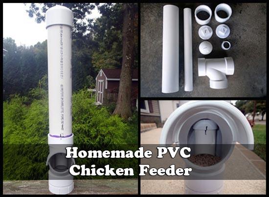 Home Made PVC Chicken Feeder