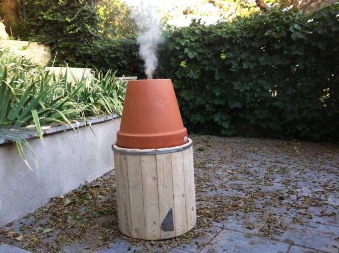 Homemade Barbecue Smoker