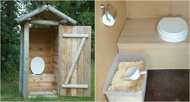 Homemade Composting Toilet System
