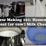 Cheese 101: Homemade Goat (or cow) Milk Cheese