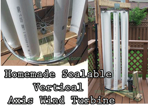 Build A Vertical Wind Generator Using A Old Washing ...