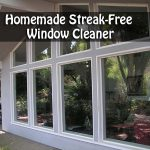 Homemade Streak-Free Window Cleaner
