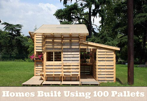 Homes Built Using 100 Pallets