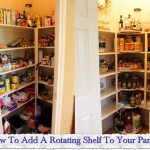 How To Add A Rotating Shelf To Your Pantry