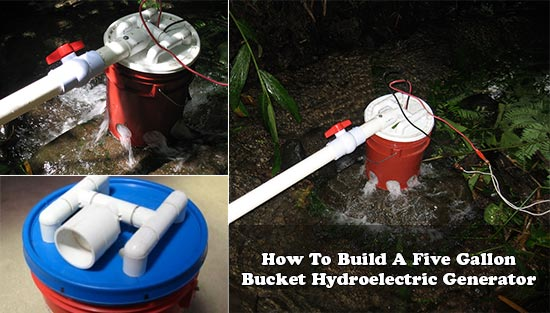How To Build A Five Gallon Bucket Hydroelectric Generator