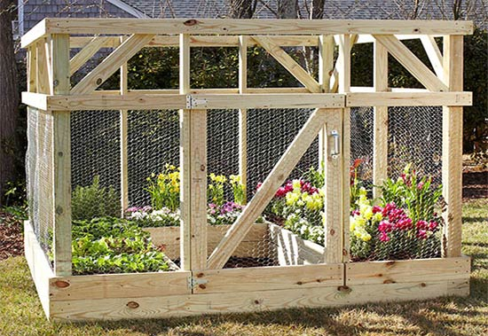 How To Build A Garden Enclosure