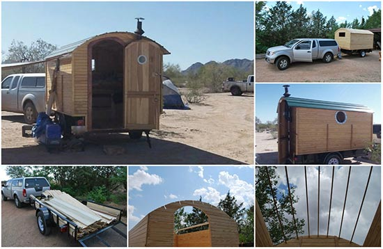 How To Build A Gypsy Wagon Trailer