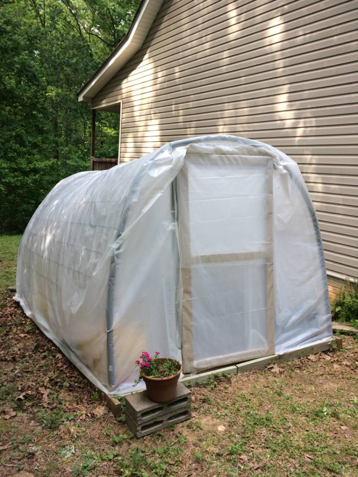 How To Build A Simple DIY Hoop-Style Greenhouse