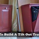 How To Build A Tilt Out Trash Can