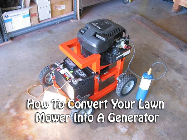 Convert Lawn Mower Into Generator Motorcycle Review And