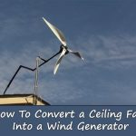 Do-It-Yourself – 100Watts Ceiling Fan Wind Turbine