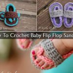 How To Crochet Baby Flip Flop Sandals