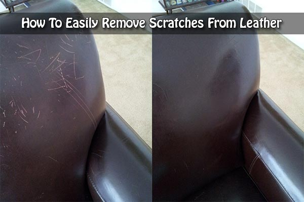 How To Easily Remove Scratches From Leather