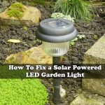 How To Fix a Solar Powered LED Garden Light