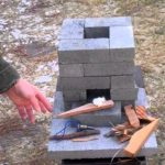 How To Make A Brick Rocket Stove For Under $10