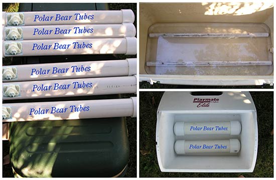 How To Make Polar Bear Tubes