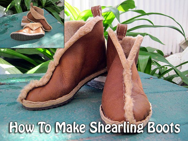 How To Make Shearling Boots