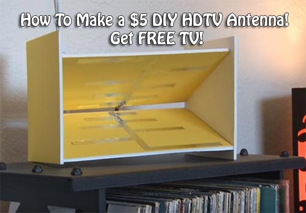 How To Make a $5 DIY HDTV Antenna! Get FREE TV! Homemade Hdtv Plans on funny plans, hotel plans, cutting board plans, canoe plans, camp plans, college plans, family plans, european plans, 14 skiff plans, vintage plans, teardrop camping trailer plans, cartoon plans, sawmill plans, american plans, storage cabinet woodworking plans, school plans, bicycle plans, gym plans, teacher plans, small wood projects plans,
