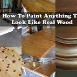 How To Paint Anything To Look Like Real Wood