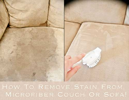 how to get stains out of suede couch how to remove stain from microfiber couch or sofa how to. Black Bedroom Furniture Sets. Home Design Ideas