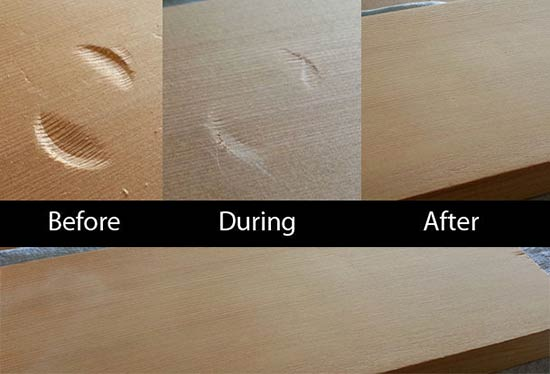 How To Remove a Dent From Wooden Furniture