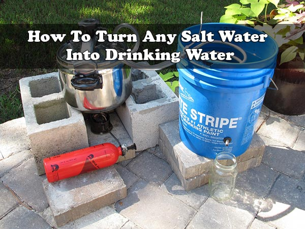 How To Turn Any Salt Water Into Drinking Water