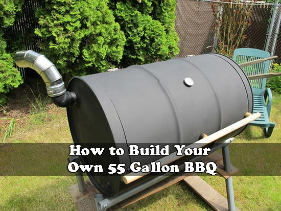 How to Build Your Own 55 Gallon BBQ