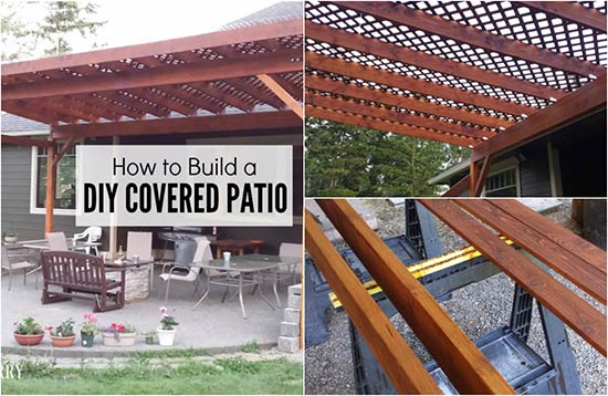 - How To Build A DIY Covered Patio