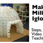 Kids Time DIY: Build a Super Cool Milk Jug Igloo!