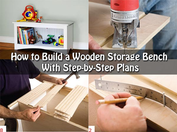 How to Build a Wooden Storage Bench With Step-by-Step Plans