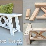 How to Build an Outdoor Bench for $13