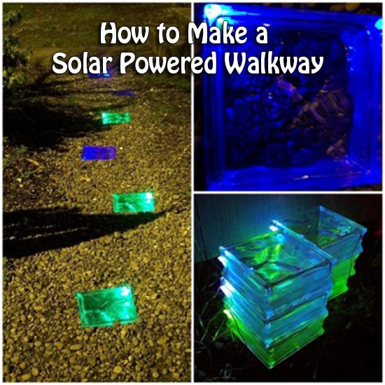 How To Make A Solar Powered Walkway