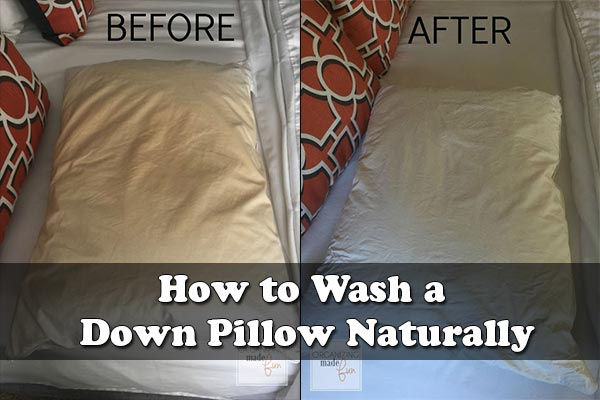 How to Wash a Down Pillow Naturally