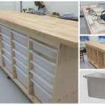 DIY: Ikea Rolling Organizing Storage Chest