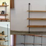 Industrial-Pipe-Shelving-Unit