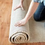 DIY Large Area Rug For Under $30