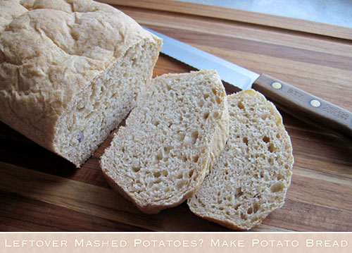 Leftover Mashed Potatoes? Make Potato Bread