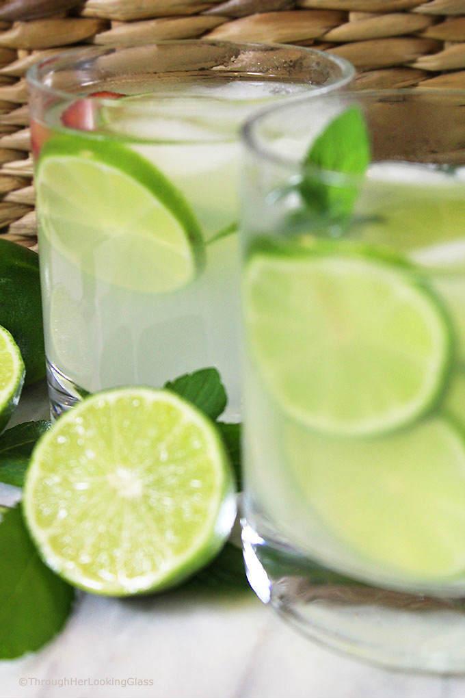Fresh Squeezed Limeade Recipe