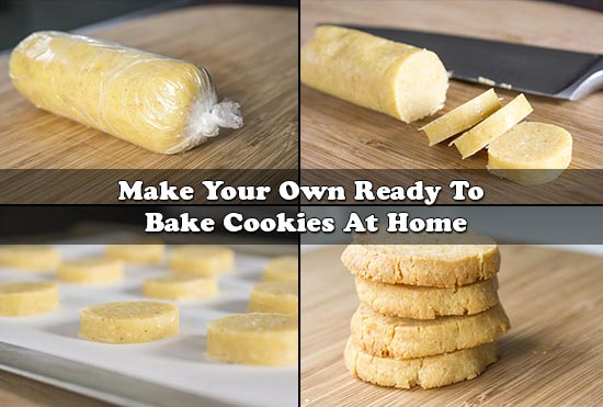 Make Your Own Ready To Bake Cookies At Home
