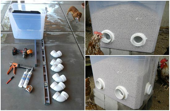 Make your own No-Waste Feeder