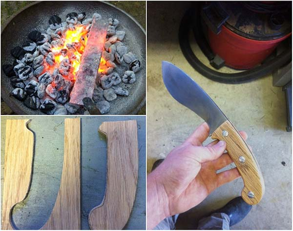 Making A Knife From A Car's Leaf Spring