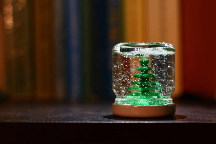 Mason Jars Snow Globes