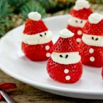 Super Cute, Mini Santa Strawberry Treats