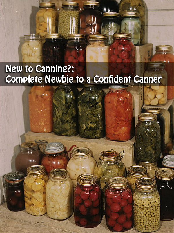 New to Canning?: Complete Newbie to a Confident Canner
