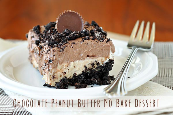 No-Bake Peanut Butter Dessert Recipe