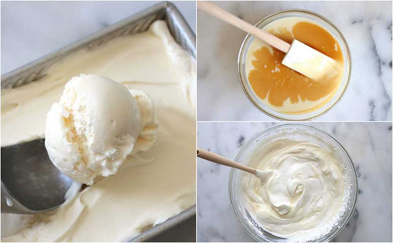 No Churn Ice Cream Recipe Using Only 3 Ingredients