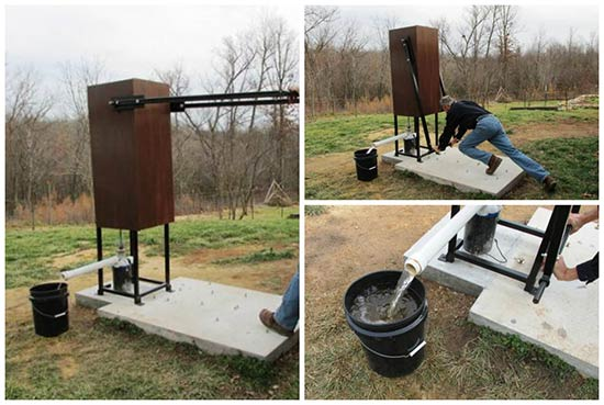 Living Off Grid - A Home Made Deep Well Pump