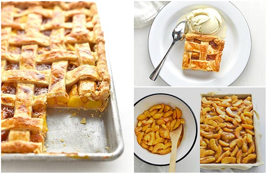 Peach Slab Pie Recipe